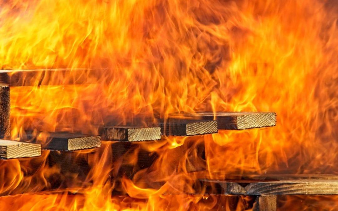 The Devastation of Fire