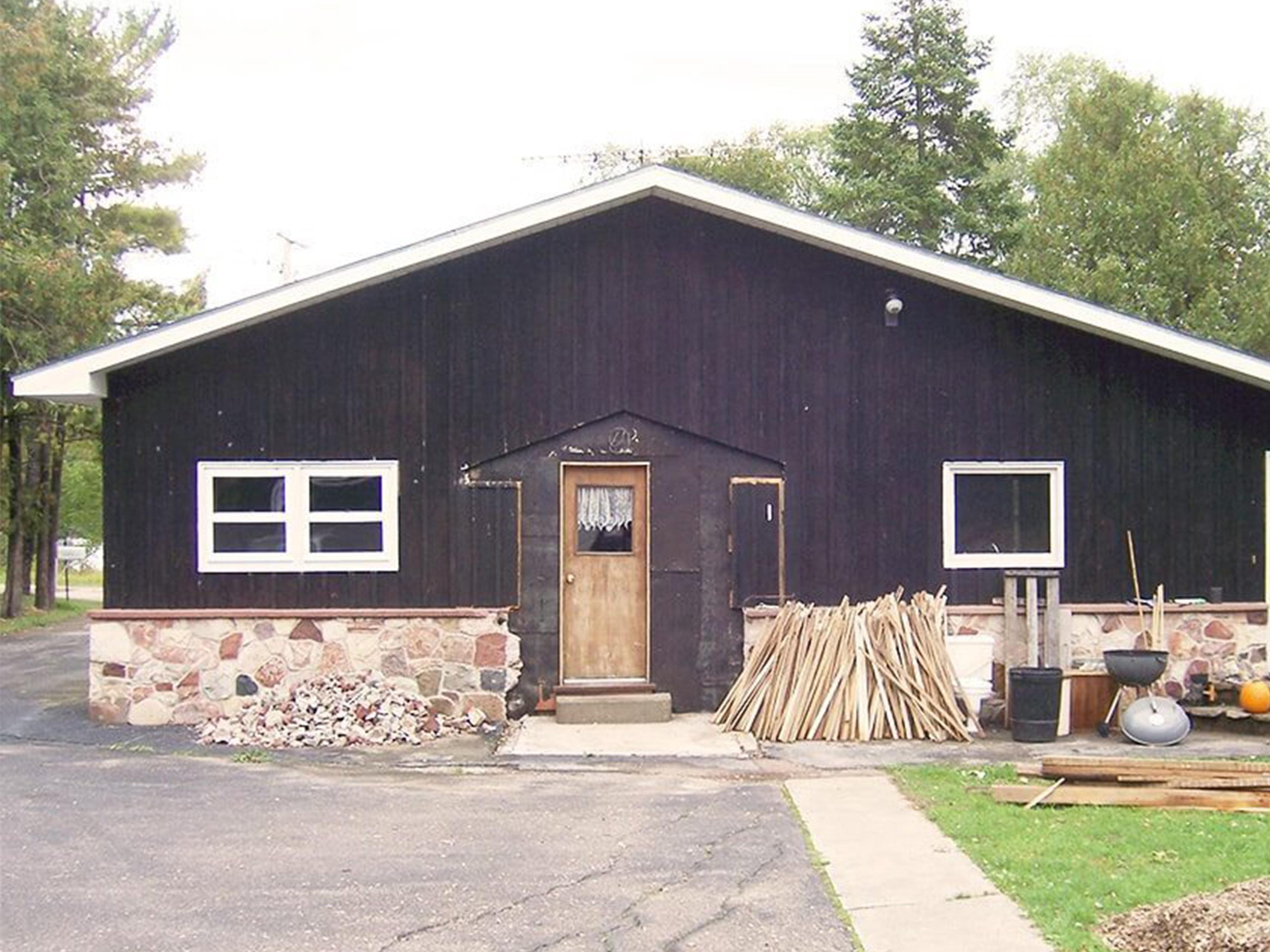 Craftsman home before restoration