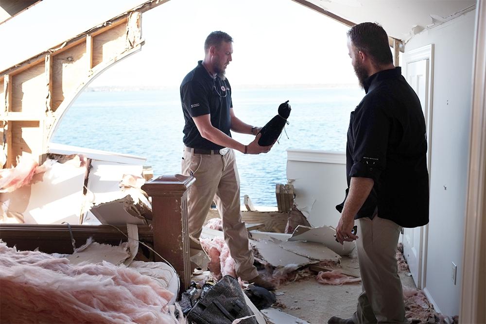 Master Restoration Hurricane Michael Damage