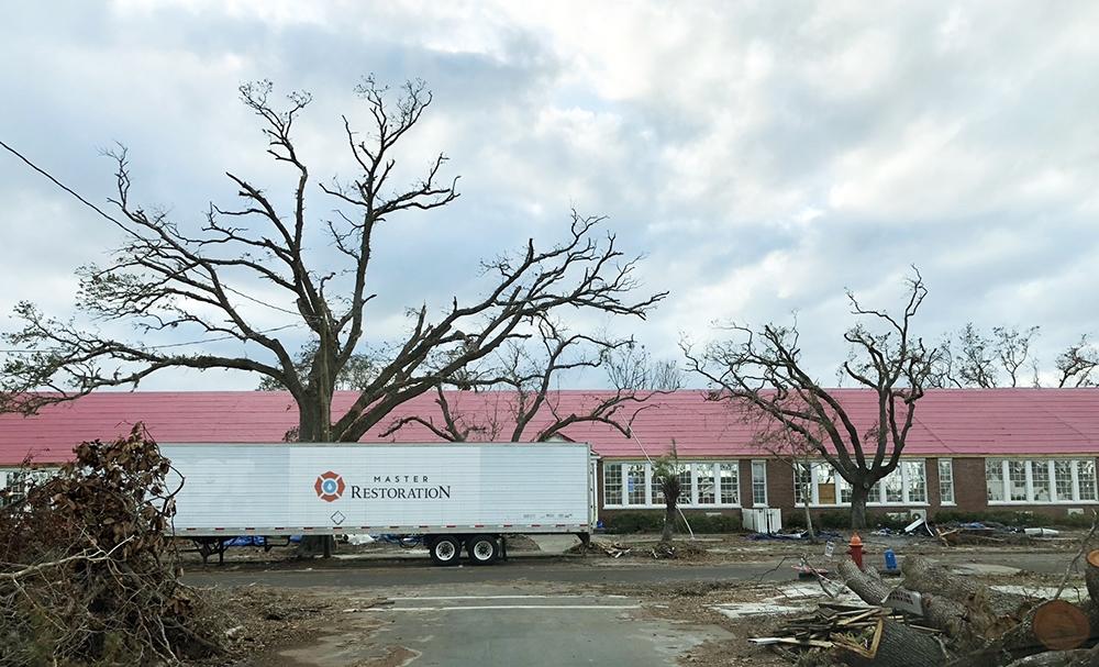 Master Restoration Hurricane Damage from Tropical Storm